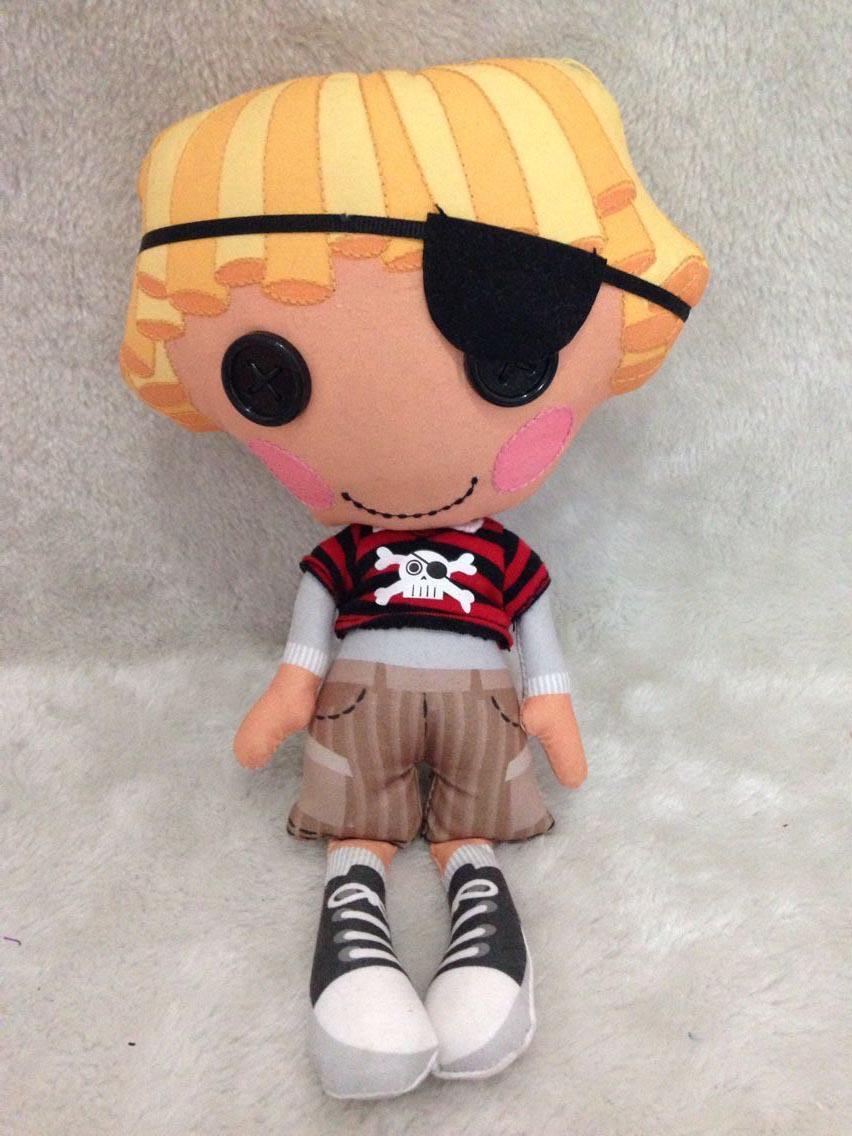 MGA Lalaloopsy Plush Toys 20cm Lalaloopsy Boy Plush Doll Patch Treasurechest <br><br>Aliexpress