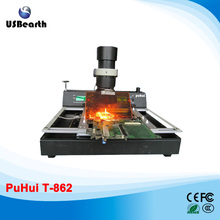 PuHui T870A  infrared welding machine BGA rework station reballing machine for motherboard repairing, free tax to EU