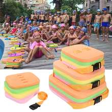 4 in 1 Swimming Floating Kickboard Child Adults Safe Pool Training Learner Aid Foam Air Mattresses Kick Board with Safety Belt(China)