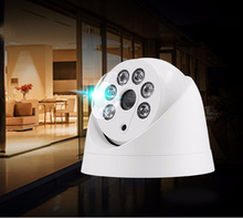 Buy IP Camera 720P 960P 1080P Onvif CCTV 6pc Array LED P2P HD motion Night Vision HD Camera ABS Camera security XMEye for $17.58 in AliExpress store