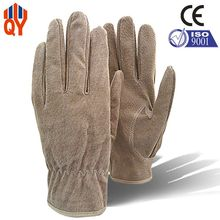 Free Shipping Good Quality Safety Working Gloves Pigskin Split Leather Gloves