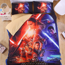 Cartoon Bedding Set Star Wars Duvet Cover Set Soft Quilt blanket Cover For Children Kid Gift AU Single Double Queen king size(China)
