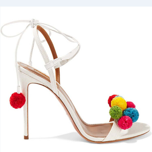 Summer Shoes Woman Sandals High Heels 10CM Lace Up Sandals Women Shoes Open Toe Women Sandals Sexy Ankle Strap Sandalias C-830<br><br>Aliexpress