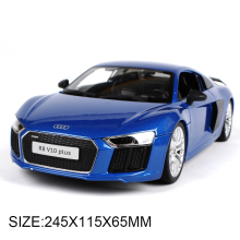 1:18 diecast Car AD R8 V10 Plus Diecast Car Model Toy Vehicle Car Model Maisto Models Kids Car