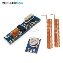 433MHz 100 Meters ASK Module Kit RF STX882 Transmitter&SRX882 Receiver Antenna