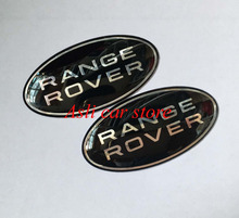 Free Shipping RANGE ROVER Emblem Aluminum Sticker for Rover Defender Discovery Freelander Evoque Auto series