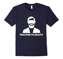 Bigaga Go  Fashion Tee 2016  Virtual reality t shirt - Welcome to reality t shirt   Men's T-Shirt