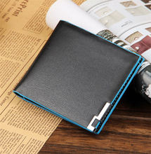 Buy 2 pieces of discount 10%  Young fashion personality short couples wallet leather genuine  Colorful Work Fine  waterproof
