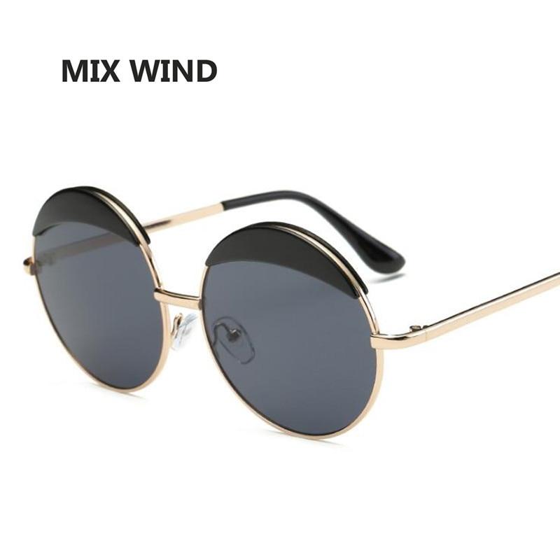 Mix wind New Women  Retro Round Sunglasses Women Brand Vintage Coating Sun Glasses Fashion  Mirror Glasses Oculos UV400<br><br>Aliexpress