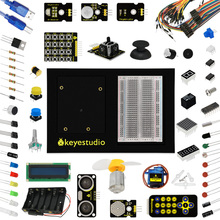 Buy Keyestudio Updated Maker learning kit/starter kit (no UNO board) arduinos starter kit 1602 LCD+Servo+LEDs+PDF for $40.00 in AliExpress store