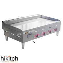 BIG  with LPG gas grill griddle pan use to restaurant wholesale good price USD300-409