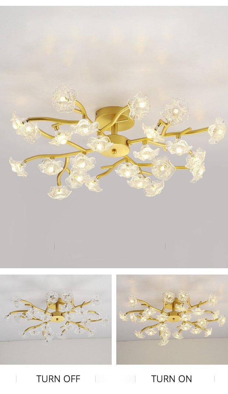 DX Vintage Flower Ceiling Light (9)