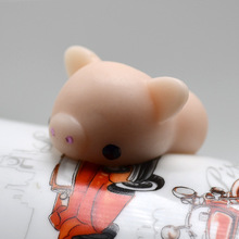 2017 New Cute Pig Ball  Squishy Squeeze Cute Toy Collection Fun Practical Joke Stress  Reliever Gift Anti-stress Toys