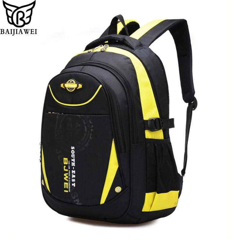 BAIJIAWEI 2017 New Children School Bags For Girls Boys Children Backpack In Primary School Backpacks Mochila Infantil Zip<br><br>Aliexpress