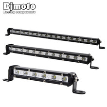 18W 36W 54W LED Light Bar ATV Off Road Light Lamp Fog Driving Work Lights For 4x4 Offroad SUV Car Truck Trailer Tractor UTV