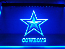 LD039- Dallas Cowboys NR Super Bowl LED Neon Light Sign(China)