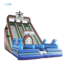 Inflatable Biggors Inflatable n slip and slide Inflatable Dry Double Lane Slide For Sale(China)