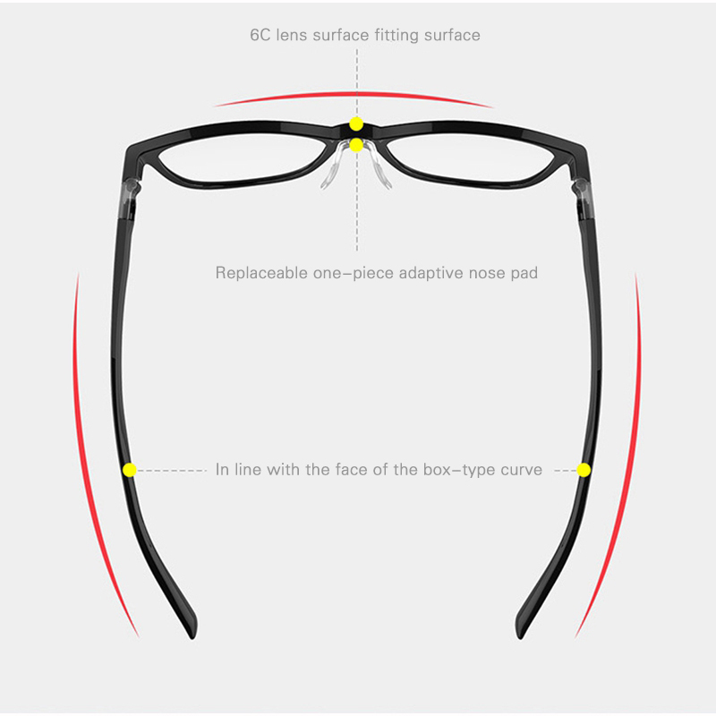Qukan B1/W1 Photochromic Anti Blue ray Protect Glasses Detachable Anti-blue-rays Protective Glass Updated Version