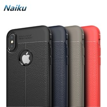 Fundas For Apple iPhone X Case Business Style Soft Silicone Back Cover Shockproof Protection Mobile Phone Bags For iPhone 10 Ten(China)