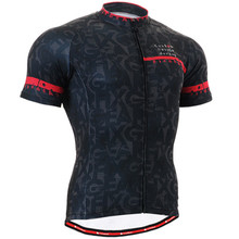 LIFE ON TRACK Mens Cycling Jersey Hot Style Bike Bicycle Clothing Summer Short Breathable Bike Shirt Quick-dry Outdoor Sportwear
