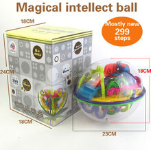 299 Steps 3D Magic Maze Ball perplexus magical intellect ball educational toys Marble Puzzle Game perplexus balls IQ Balance toy(China)