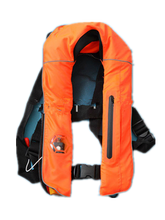 Super quality CE MED certified ISO12402-3 Adult Manual Inflatable life jacket 150N with free shipping(China)