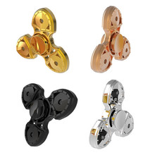 Buy EDC Hand Spinner Plastic Fidget Spinners HandSpinner Tri-Spinner Anti Stress wheel Toys Autism ADHD Spiner figet spiner for $2.46 in AliExpress store
