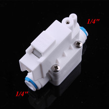 "1/4"" Hose Quick Connection High Pressure Switch Reverse Osmosis Aquarium Drinking Water Purification Fittings"