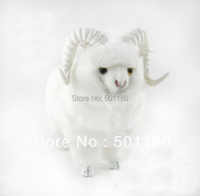 free shipping sheep ornament craft soft sheep toys decorative sheep figurine