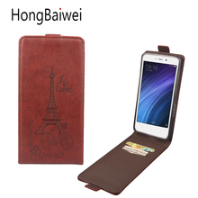 Case For Xiaomi Redmi 4X 4A 4 Pro 3 Pro Leather Case Eiffel Tower Flip Phone bag for Xiaomi Redmi 4A Note 4X 3Pro 4 Pro Mi5 case