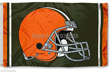 Cleveland Browns Large logo 3x5ft banner Flag(China)