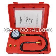 Engine Oil Pressure Tester Gauge Diagnostic Test Kit Adapters Case 100 PSI NEW
