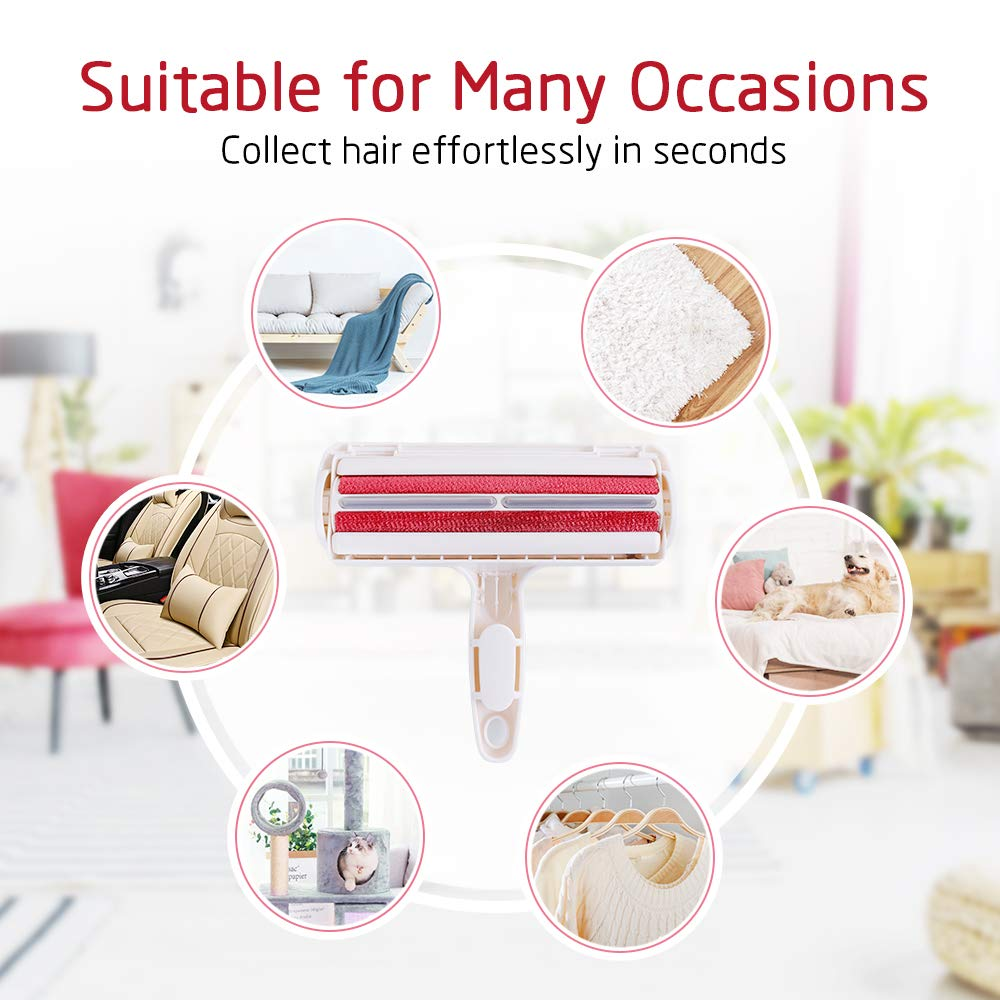 Tabletop - Pet Hair Hair Remover Roller Dog Cat Hair Furniture lint remover magic Brush reusable Device