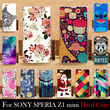 FOR SONY Ericsson Xperia  Z1 Compact Z1 mini M51W Case Hard Plastic Cellphone Mask Case Protective Cover Housing Skin Mask