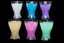 LUXURY Glitter Water Aqua Crystal Soil Gel Ball Beads For Wedding Vase Table Decrations Party water beads 100g