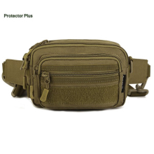 Protector Plus Outdoor Tactical Bag Waist Pack Molle Pouch Pocket Men Women Wallet Mobile Phone Bags Single Shoulder Bag S389(China)