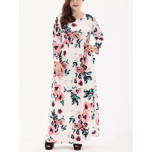 Buy Plus Size Dress Woman 5xl 6xl Clothing 2018 Spring Casual Floral Printing Knitted Long Vestidos Big Size Fashion Maxi Clothes for $23.99 in AliExpress store