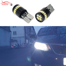 2x Canbus T10 W5W Car Interior Parking Lights Clearance LED For Kia sportage rio k2 k3 k5 ceed soul cerato forte carens sorento