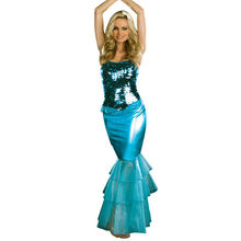 MOONIGHT Sea Diva Women's Halloween Mermaid Costume Adult Sexy Fancy Dress