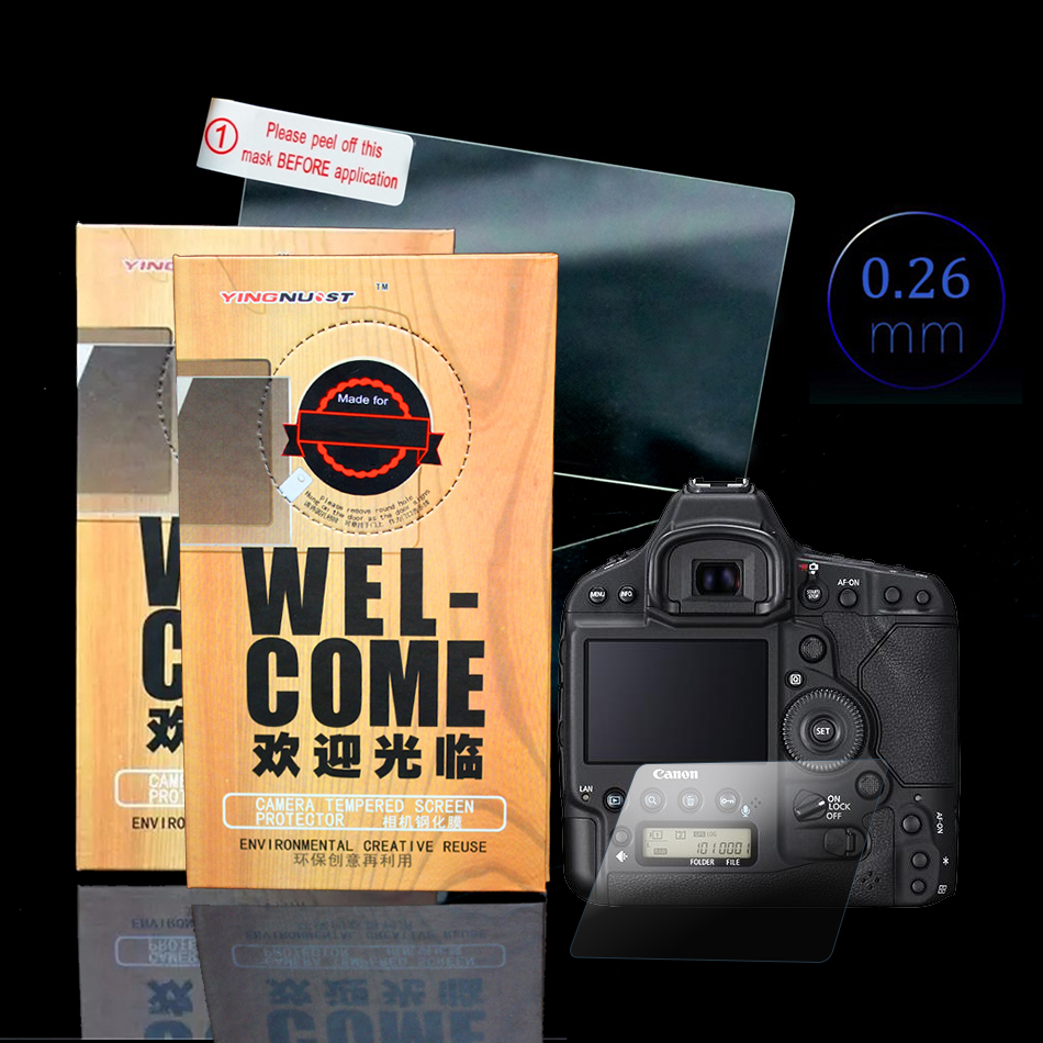 LCD Screen Tempered Glass Screen Protector For Nikon D5 D3200 HD 3 INCH Camera Focusing Screens Toughened Glass Protective Film