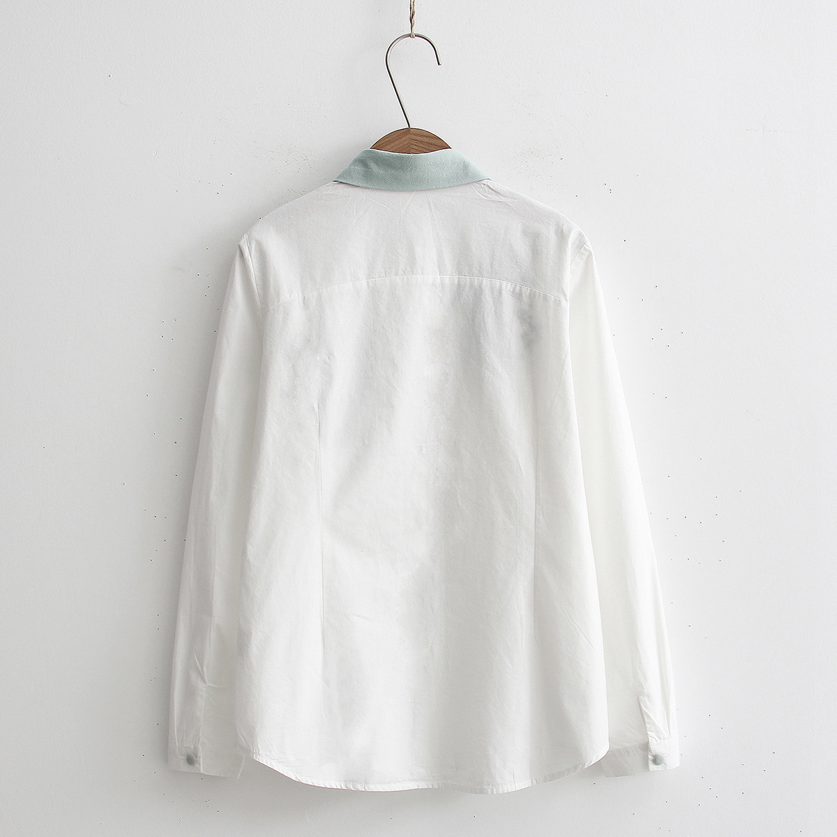 Floral Embroidery White Blouse 10