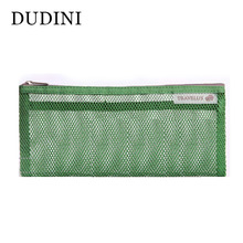 New Arrival Mesh Cosmetic Bags 4 Colors Casual Small Travel Wash Bag Waterproof Nylon Zipper Sorting Organizer Pouch Make Up Bag
