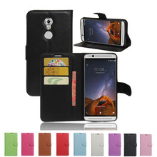 Buy Luxury Phone Funda Case ZTE axon 7 mini Coques Stand Flip Cover Wallet PU Leather Bag Skin ZTE Axon 7 mini for $3.30 in AliExpress store