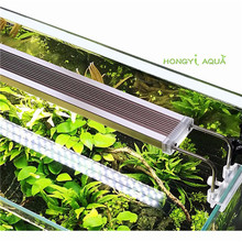 1 piece glass ADE series slim aquarium LED light lighting plants grow light aquarium plant lights 12W 14W 18W 24W(China)