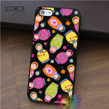 SCOZOS matrioska fabric art fashion cell phone case for iphone X 4 4s 5 5s 5c SE 6 6s 6 plus 6s plus 7 7 plus 8 8 plus #ey434
