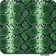 0.5mX2m green snake skin hydro transfer printing film CSPH055 hydrographic(China)