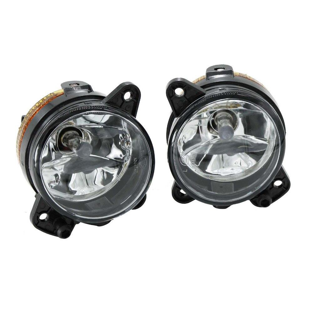 2Pcs For VW Transporter T5 Multivan 2003 2004 2005 2006 2007 2008 2009 2010 Front Fog Light Fog Lamp  With Bulbs<br>