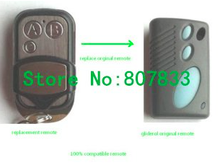 The replace for gliderol remote TM-305C , garage door remote control opener, electronic gate control with plasic cover(China)