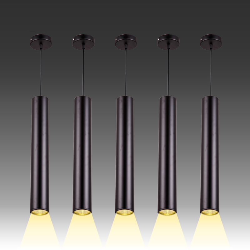 Aluminum Cylinder Pipe Pendant Lights Restaurant Light Lamp Fixture For Kitchen Island Dining,Living Room,Hotel,Shop Decor<br>