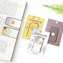 Creative Cat And Dog Style Magnet Bookmark Paper Clip School Office Supply Escolar Papelaria Gift Stationery(China)